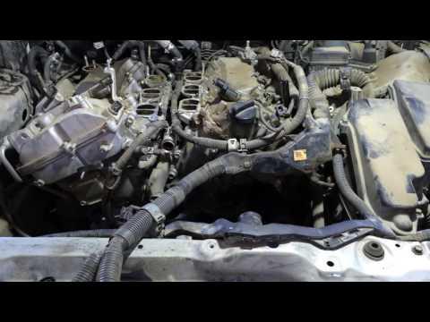 Ремонтируем двигатель 3GR FSE Лексус GS300 2006 года Lexus GS-300 1 ЧАСТЬ