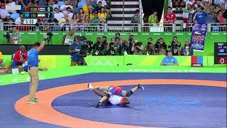 getlinkyoutube.com-Freestyle wrestling. Rio 2016. 57 kg. Highlights