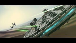 getlinkyoutube.com-LEGO Star Wars - The Force Awakens Teaser (Realistic Look)