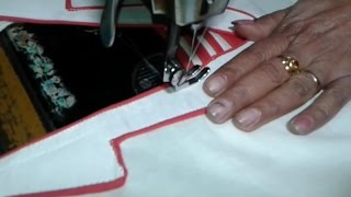 getlinkyoutube.com-kamez back neck cutting and stitching in hindi