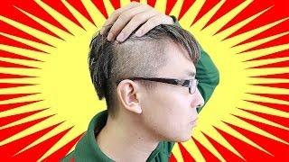 getlinkyoutube.com-俺史上最高にオシャレ!髪型を思いっきり変えてみた! / 黒髪ツーブロックベリーショート