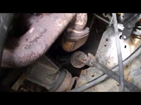 Замена рулевого карданчика форд транзит