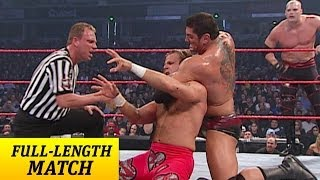 getlinkyoutube.com-FULL-LENGTH MATCH - Raw - Goldberg, Shawn Michaels & RVD vs. Batista, Randy Orton & Kane