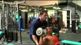 getlinkyoutube.com-Sazali Samad trained by Milos Sarcev Mr Olympia Top contender