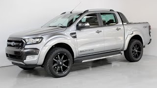 "getlinkyoutube.com-Ford Ranger Wildtrak Facelift with Flares and 20"" alloys - www.teamhutchinsonford.com"