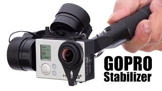 getlinkyoutube.com-Handheld Gimbal Stabilizer for GOPRO 3+ by HeliPal.com