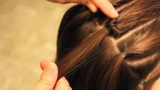 トップシィテールを使ってヘアアレンジ 2 Hair style with TopsyTail Part 2