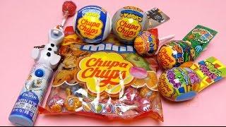getlinkyoutube.com-Chupa Chups Mega Lollipops Compilation - Frozen Spin Pop, Chupa Chups Surprise & Star Wars