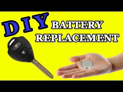 Замена батарейки в ключе Тойота Королла, Хайлюкс, РАВ4, Супра, Аурис, Авенсис Change the battery