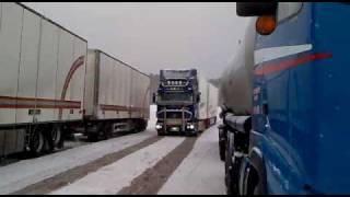 getlinkyoutube.com-Järvinen Transports Scania R560 Rakt Rör V8 Part 2