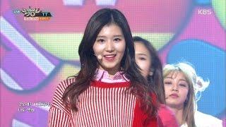 getlinkyoutube.com-Music Bank 뮤직뱅크 - TWICE 트와이스, 'TT'.20161125