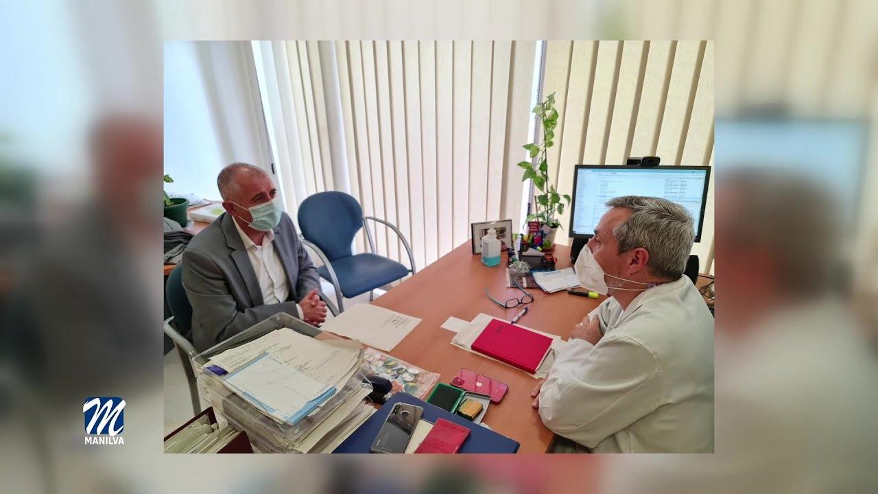 Reunión con el director médico de  nuestra localidad