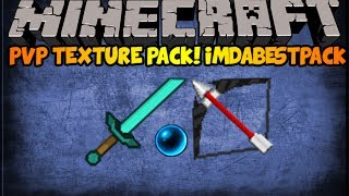"Minecraft 1.7+ PVP Texture Pack Review ""ImDaBestPack""!"