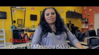 Working for someone else was not for Claudia owner of Minino's Salon