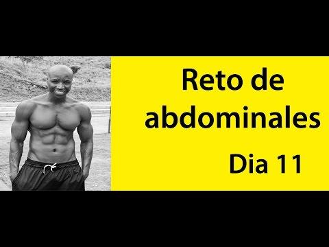 ABDOMINALES EN 30 DIAS ( RETO DIA 11)