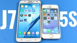 getlinkyoutube.com-Samsung Galaxy J7 vs iPhone 5S