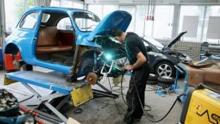 getlinkyoutube.com-Fiat 500 F 1966 restoration, part1