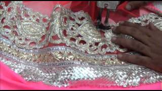 getlinkyoutube.com-Lehnga Saree Blouse Cutting Stitching Method Tutorial:Lehnga Choli Lase Sewing