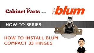 getlinkyoutube.com-Blum Compact 33 - How to install and adjust a Blum Compact Hinge