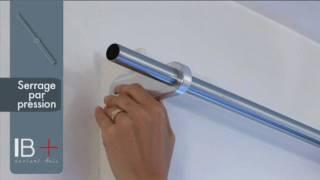 getlinkyoutube.com-ridorail / iB+ tringle à rideau pour caisson de volet roulant