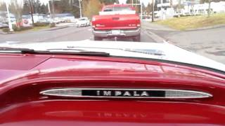getlinkyoutube.com-1959 chevrolet chevy impala 2-door hard-top beautiful restoration 348ci. dual quads! lets drive !