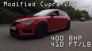 getlinkyoutube.com-Seat leon Cupra 280..400BHP..APR Stage 2
