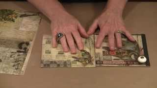"""getlinkyoutube.com-Creating A 6"""" x 6"""" Mini Album: Pages To Binding by Joggles.com"""