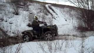 getlinkyoutube.com-Arctic Cat diesel and Can Am down hill