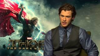 getlinkyoutube.com-Thor 2: The Dark World: Chris Hemsworth Official Movie Interview