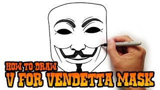 getlinkyoutube.com-How to Draw V for Vendetta