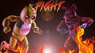 getlinkyoutube.com-[SFM] Five Nights of Kombat - Night 1 - Chica Vs. Foxy