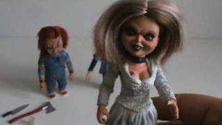 getlinkyoutube.com-Toy Spot - Neca Child's Play Seed of Chucky Family Boxed Set