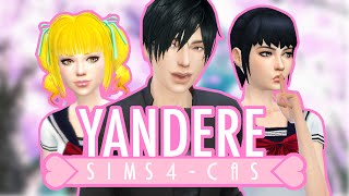 getlinkyoutube.com-The Sims 4: Create a Sim - Yandere