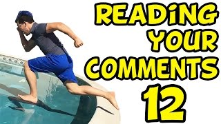 getlinkyoutube.com-RUNNING ON WATER | Reading Your Comments #12
