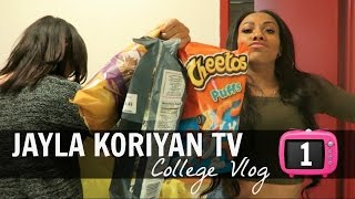 COLLEGE VLOG #1 AT THE FASHION INSTITUTE OF TECHNOLOGY