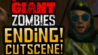 """Black Ops 3 Zombies """"THE GIANT"""" EASTER EGG ENDING CUTSCENE!!! THE GIANT EASTER EGG ENDING STORYLINE!"""