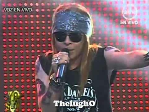 "Yo Soy Axl Rose Guns N'Roses ""Roquet Queen"" [ 25/06/2012 ] 2da Temporada"
