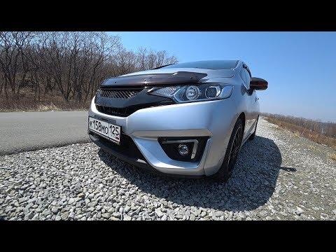 Honda Fit 1.5 Hybrid 2013 - Круче Тойоты Аквы, но ДОРОЖЕ!
