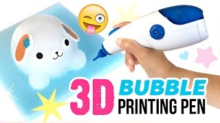getlinkyoutube.com-3D Printing Pen With BUBBLES!!! Awamoko 3D Pen DIY Tutorial