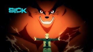 getlinkyoutube.com-Naruto e Killer Bee vs Jinchuurikis「AMV」• Way Sick ♫♪
