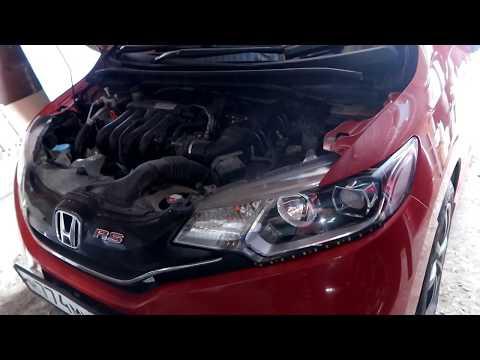 Стук двигателя на холодную хонда фит GK5,регулировка клапанов.
