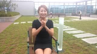 getlinkyoutube.com-염유나 물세례 FTV GIRL - KOREAN ANNAOUNCER,  YUNA ICE BUCKET CHALLENGE