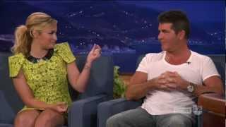 getlinkyoutube.com-Demi Lovato & Simon Cowell | Funny Moments [part 1/5]