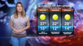 CLIMA JUEVES 23 FEBRERO 2017