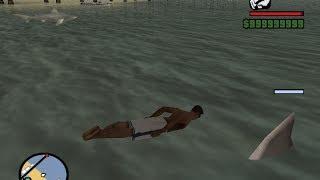 getlinkyoutube.com-[gta san-mod] สู้กับฉลามโหด ตอน 2