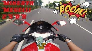 Test Ride Minerva Megelli 250R Punya Cewe !