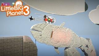 getlinkyoutube.com-LittleBIGPlanet 3 - Angry Whale Returns [Playstation 4]