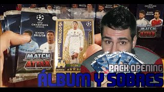 getlinkyoutube.com-Álbum y sobres Topps Match Attax Champions League 15/16 (Unboxing)