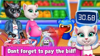 "Kitty Supermarket Manager ""Educational Kids Games"" Android Gameplay Video"