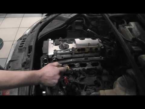 Троит двигатель Audi A4, диагностика и причины.